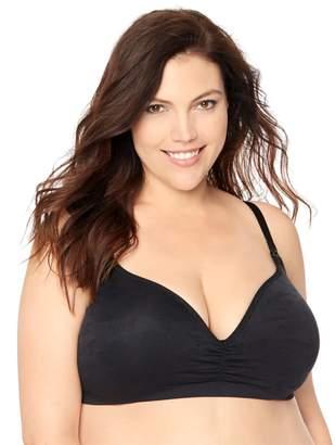 f80c5b916bca6 ... Jessica Simpson Motherhood Maternity Plus Size Seamless Clip Down  Nursing Bra
