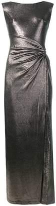 Lauren Ralph Lauren sleeveless draped dress