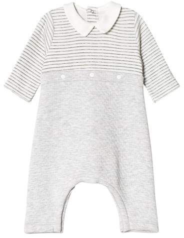 Grey Baby Overall