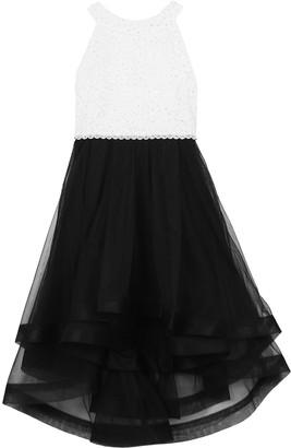 Speechless Girls 7-16 & Plus Size Rhinestone Bodice & Tulle Dress