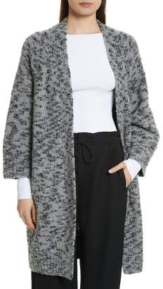 Vince Textured Wool Blend Cardigan