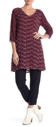 Johnny Was Dimensional Floral Lace Tunic