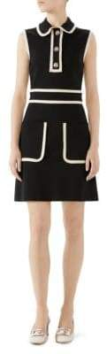 Gucci Stretch Viscose Jersey Dress