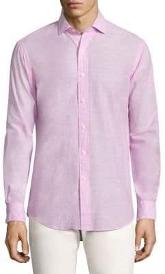 Polo Ralph Lauren Solid Estate Button-Down Shirt