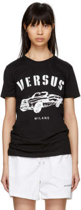 Versus Black Car Milano T-Shirt