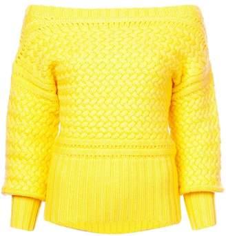 Tanya Taylor Marie off-shoulder sweater