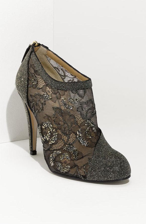 Valentino Crystal Embellished Bootie