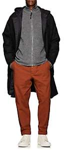 Barena Venezia Men's Reversible Wool & Tech-Fabric Parka - Dark Gray