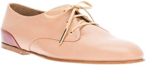 Chloé Lace Up Shoe