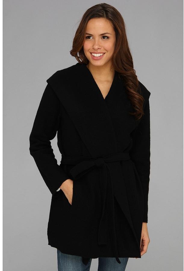Tommy Bahama Woodley Sweater Coat (Black) - Apparel