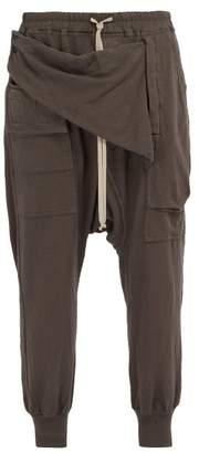 Rick Owens Prisonner Memphis Cotton Track Pants - Mens - Black