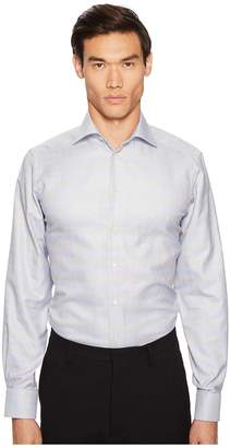 Eton Contemporary Fit Plaid Shirt Men's Clothing