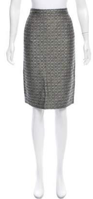 Rena Lange Tweed Pencil Skirt