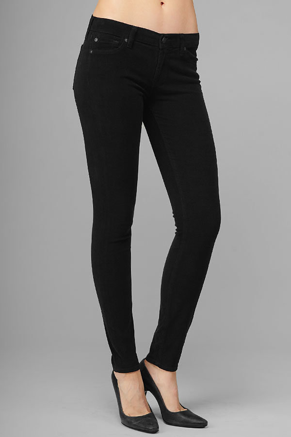 The Skinny In Washed Black