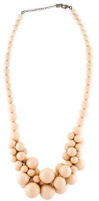 Sonia Rykiel Resin Cluster Beaded Necklace
