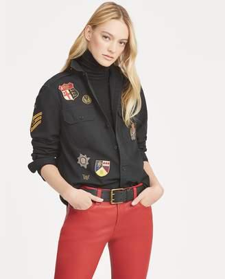 Ralph Lauren Patchwork Twill Military Shirt