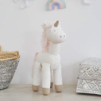Albetta Hand Crocheted Unicorn Toy