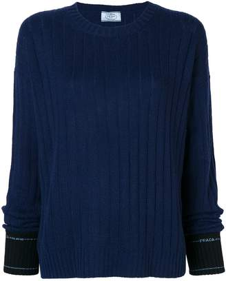 Prada ribbed sweater