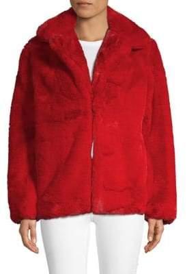 C&C California Oversized Faux Fur Jacket