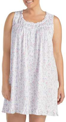 Eileen West Sleepwear Cotton & Modal Chemise (Plus)