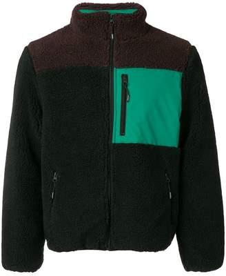 Kenzo zipped shearling jacket