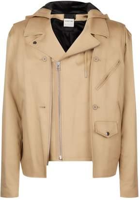 Helmut Lang Deconstructed Hooded Jacket