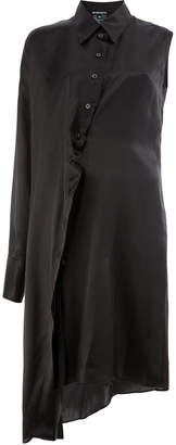 Ann Demeulemeester single sleeve shirt dress