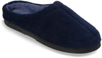 Dearfoams Men's Microfiber Clog Slippers