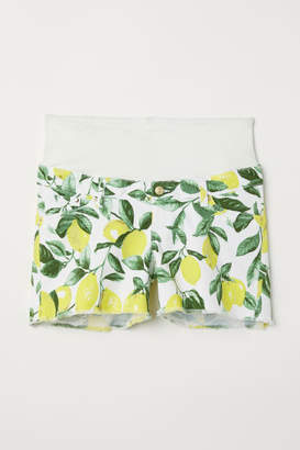 H&M MAMA twill shorts