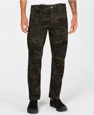 G Star Men's Tapered Camo Pants