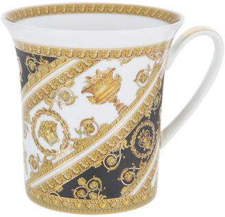 Versace I Love Baroque Mug with Handle - White