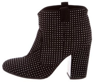 Laurence Dacade Studded Ankle Boots $395 thestylecure.com