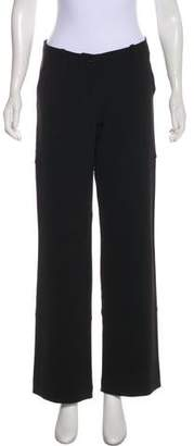 Plein Sud Jeans Mid-Rise Wide-Leg Pants