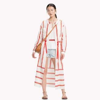 Tommy Hilfiger Cotton Linen Midi Dress
