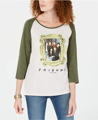 Love Tribe Juniors' Friends 3/4-Sleeve T-Shirt