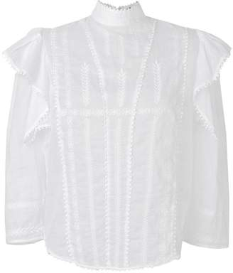 68d162537d204 Etoile Isabel Marant embroidered ruffle blouse