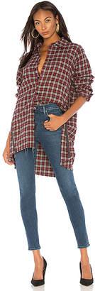 One Teaspoon Upsized Zip Up Shirt
