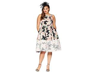 Unique Vintage Plus Size Shrimpton Swing Dress Women's Dress