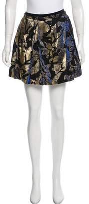 Marc Jacobs Brocade Mini Skirt