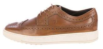 Tod's Wingtip Brogue Sneakers