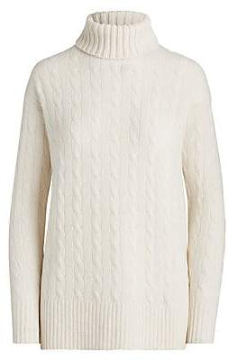Polo Ralph Lauren Women's Wool Cashmere Relaxed-Fit Turtleneck