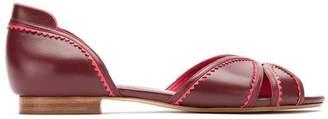Sarah Chofakian leather ballerinas