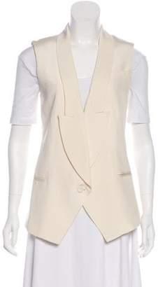 Haute Hippie Silk Structured Vest