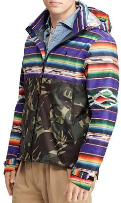 Polo Ralph Lauren Mixed-Print Ripstop Zip-Front Jacket