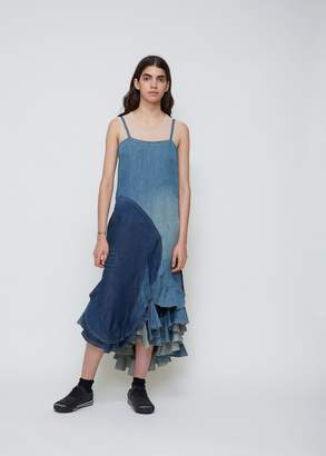 Junya Watanabe Denim Patchwork Dress