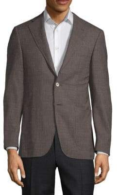 Canali Textured Sport Jacket