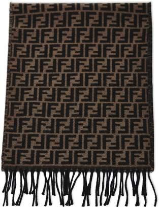 Fendi Double F Knit Scarf