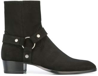 Saint Laurent Classic Wyatt 40 ankle boots