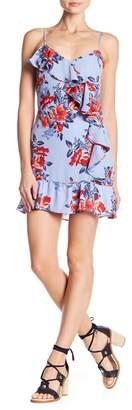 Parker Sleeveless Printed Ruffle Dress
