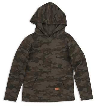 7 For All Mankind Boys' Camo Print Hooded Tee - Little Kid
